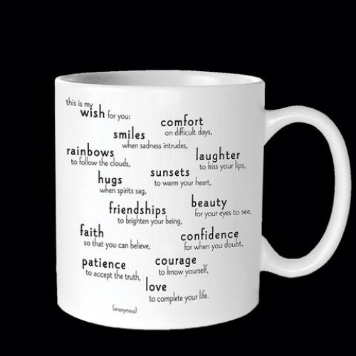 My Wish For You Mug by Quotables