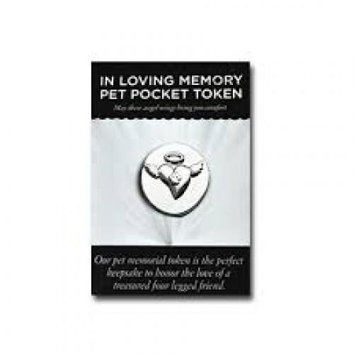 In loving memory pet pocket token