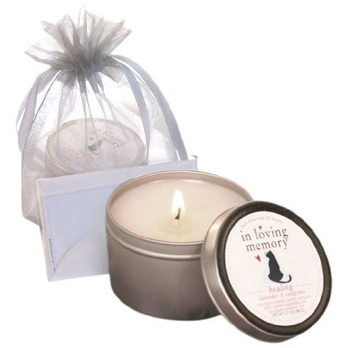 Cat Lovers 'In Loving Memory' Sympathy Candle