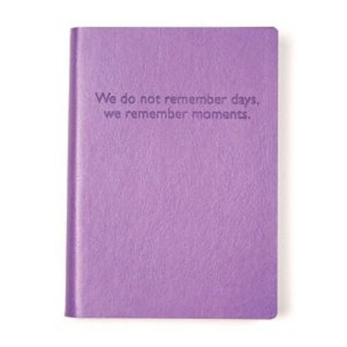 'We Do Not Remember Days' Leather Photo Book