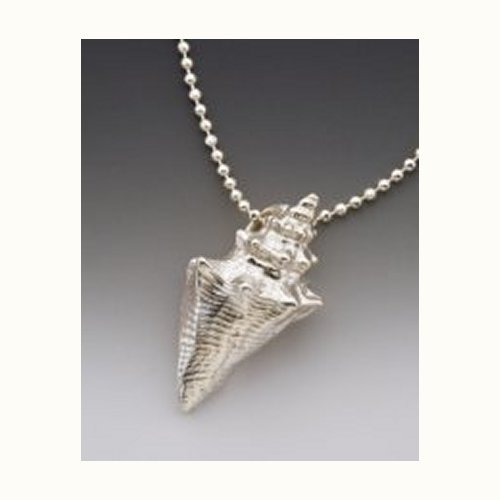 Sterling Silver Remembrance Shell Necklace