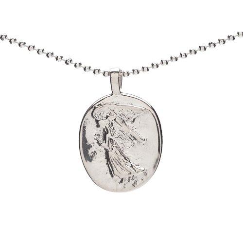 Sterling silver angel pendant healing baskets sterling silver angel pendant aloadofball Images