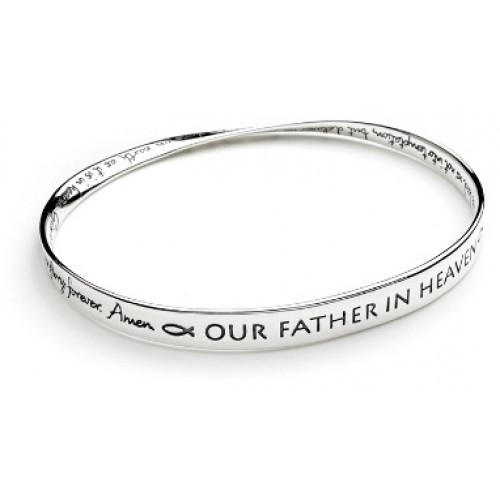 Lord's Prayer NIV Mobius Bracelets