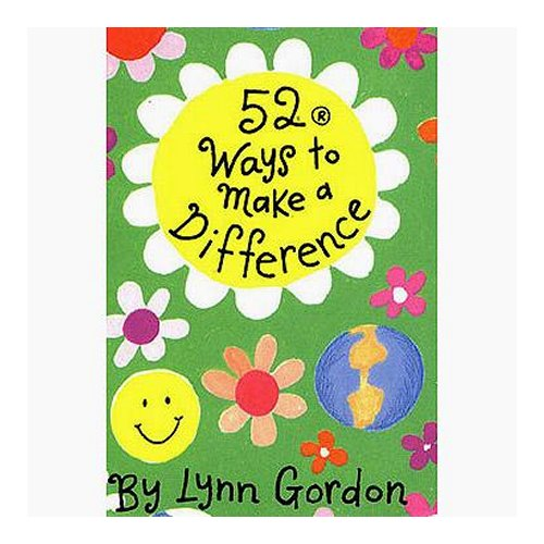 52 Ways To Make A Difference