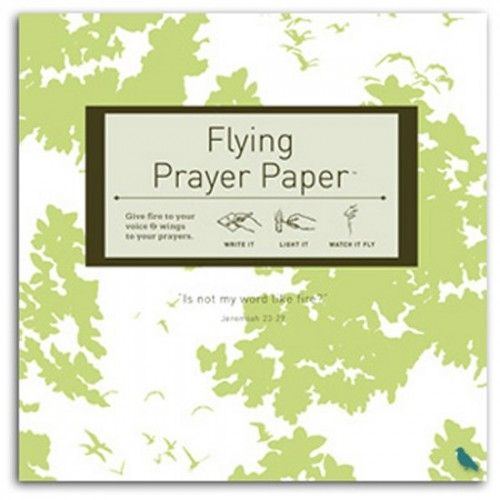 Prayer and Wish Flying Papers
