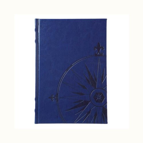 Nautilus Navy Leather Journal by Eccolo