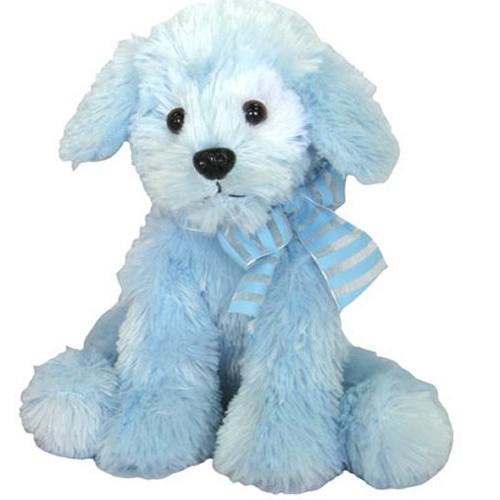 Stuffed Toys Blue Dog Plush Healing Baskets