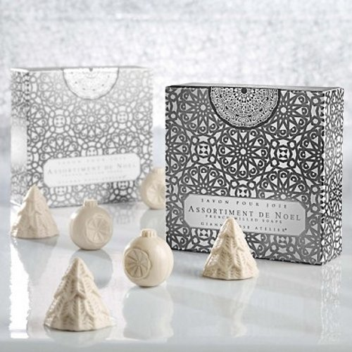 Gianna Rose Holiday Ornament Soaps