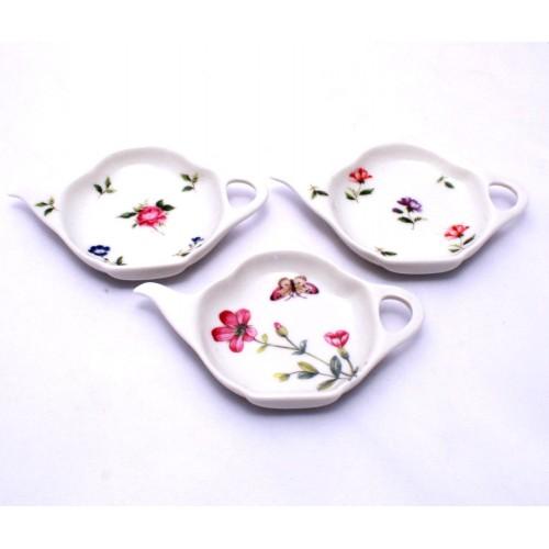 Floral Tea Bag Holder