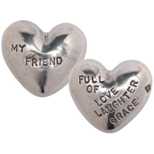 Full of Love Laughter Grace My Friend Heart Paperweight by Tamara Hensick