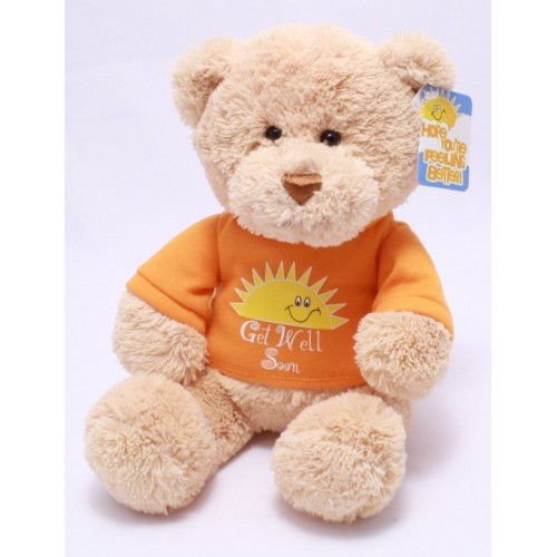 Get Well Soon Bear by GUND Plush Stuffed Toy