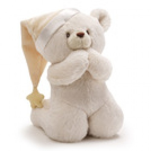 Now I Lay Me Down To Sleep Prayer Beer by GUND Plush Stuffed Toy