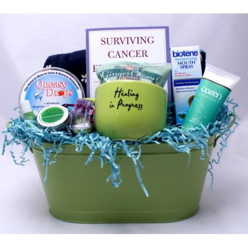 Healing In Progress Cancer Basket - Ladies