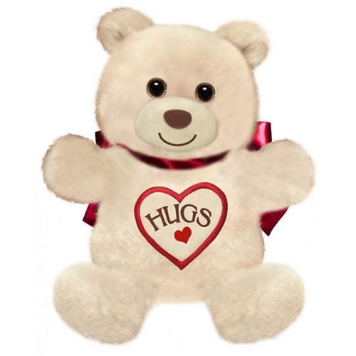 Hugs from Huggie the Bear
