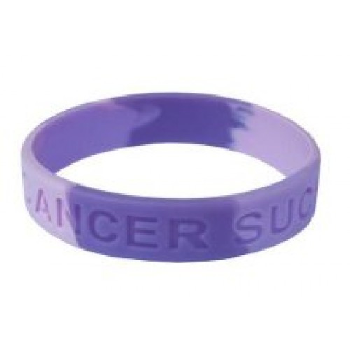Youth Size Cancer Sucks and LIVESTRONG Silicon Bracelets ...