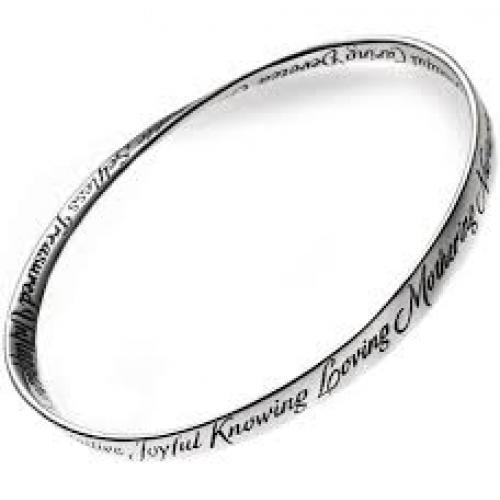 The A to Z of Mom Mobius Bracelet