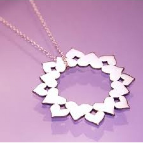 Love Never Fails I Corinthians 13:8 Necklace