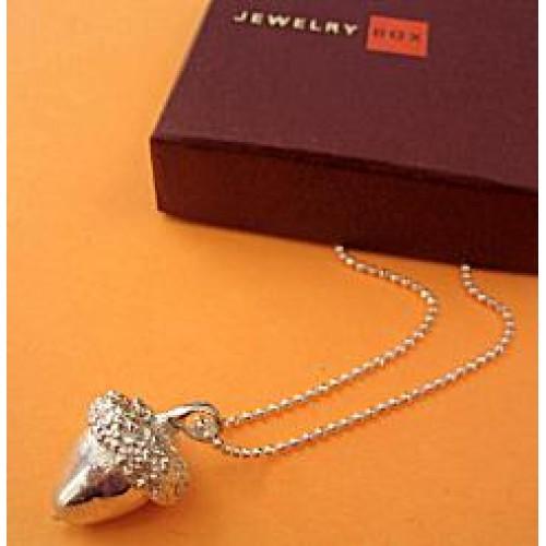 Strength Acorn Necklace