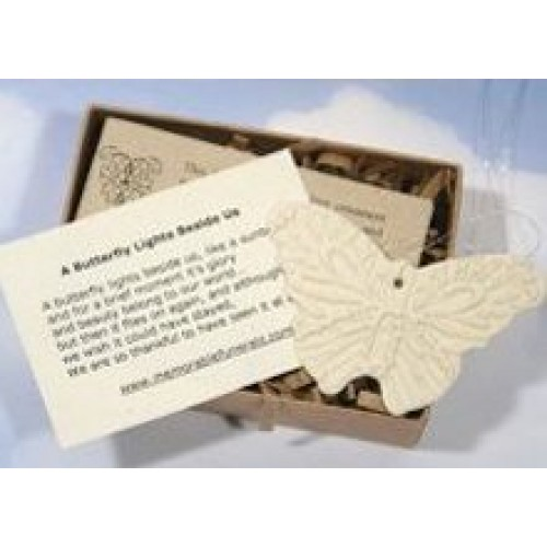 Butterfly Funeral Favors