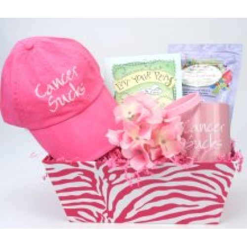 Eat Your Peas For The Cure Cancer Basket for Women