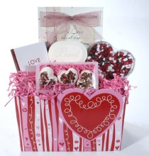 Caregiver gift baskets