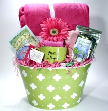 Cancer gift baskets for women
